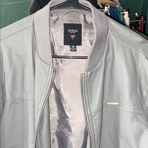 Guess jacket men's gray